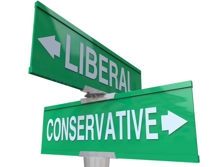 the opposite views and ideologies of conservatism and liberalism in the united states A summary of american ideologies in 's political ideologies liberal nor conservative parties in the united states that.