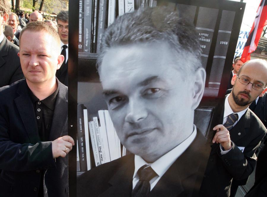 Pogrzeba Janusza Kurtyki, byłego prezesa IPN