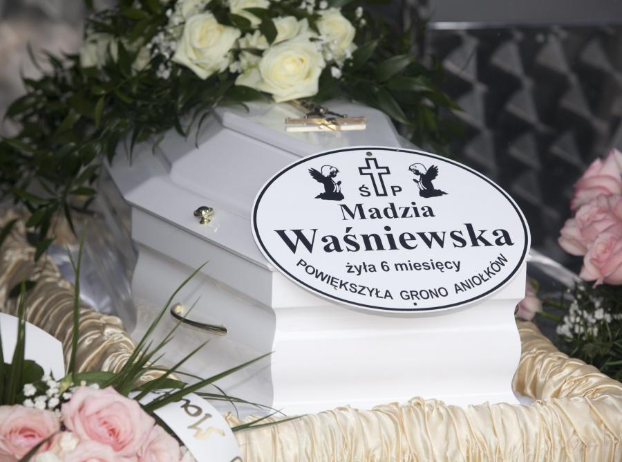 Pogrzeb małej Madzi