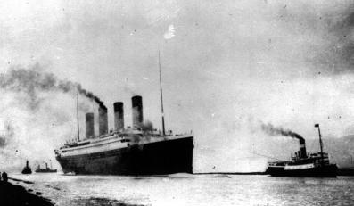 """""""Titanic"""" opuszcza Southampton 10 kwietnia 1912 roku"""