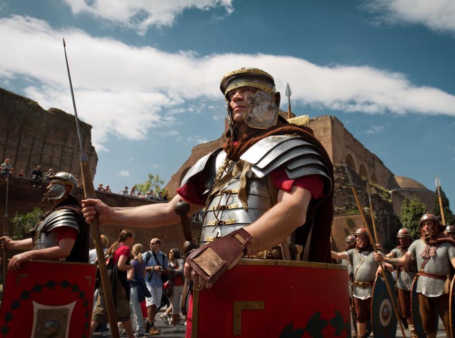Współcześni starożytni Rzymianie