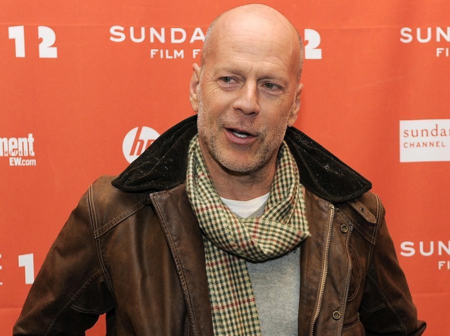 Bruce Willis kręci \