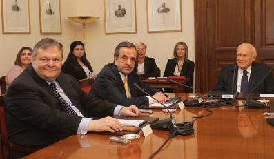 Spotkanie liderów greckiej partii