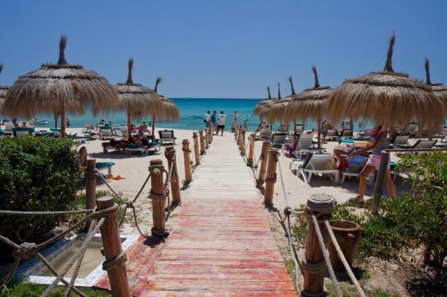 Plaża w Sousse