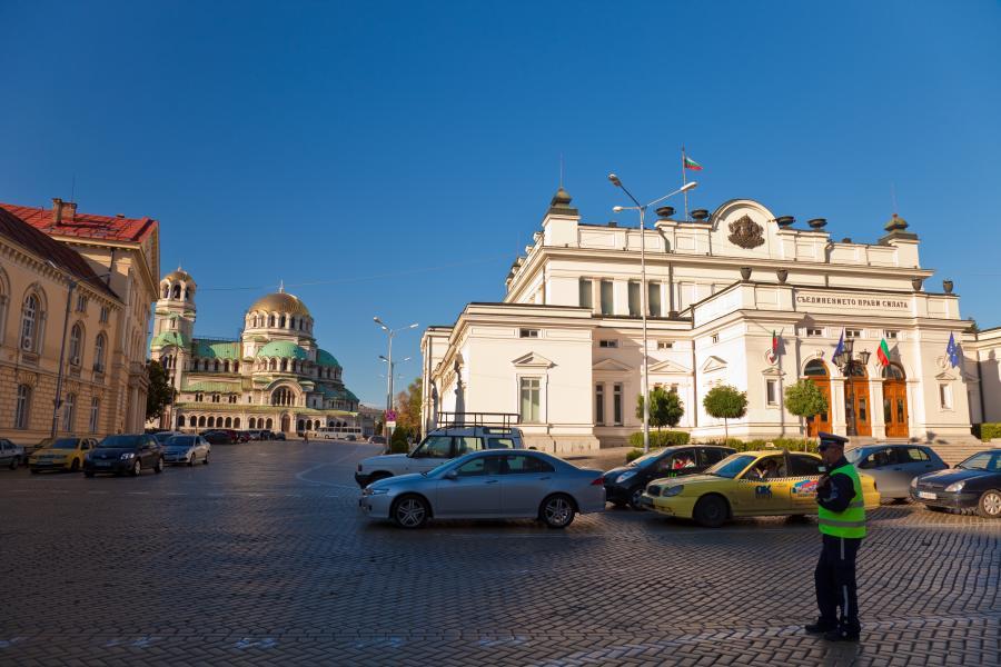 Sofia - stolica Bułgarii