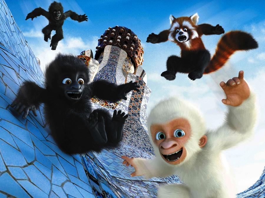 Goryl Śnieżek – nie lubi bananów, polubią go dzieciaki