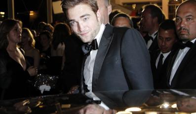 """Robert Pattinson na premierze """"Cosmopolis"""" w Cannes"""