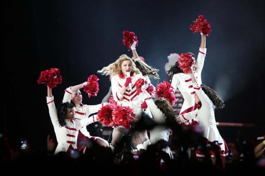 Madonna na trasie promującej album \