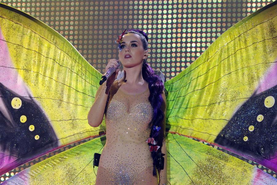 Katy Perry przebudziła się w krainie fantazji
