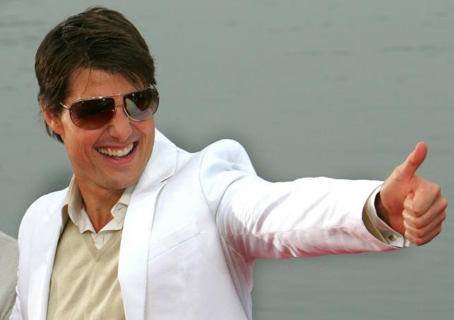 Tom Cruise (a właściwie: Thomas Cruise Mapother IV) świętuje 50-tkę!