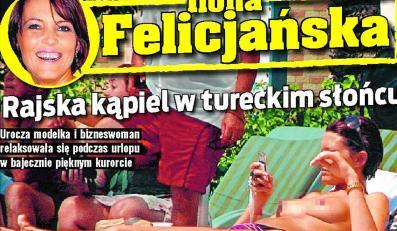 Ilona Felicjańska podczas urlopu na tureckim Wybrzeżu Egejskim starała się wykorzystać każdą chwilę bajecznej pogody