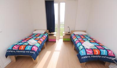 Pokój w wiosce olimpijskiej w Londynie