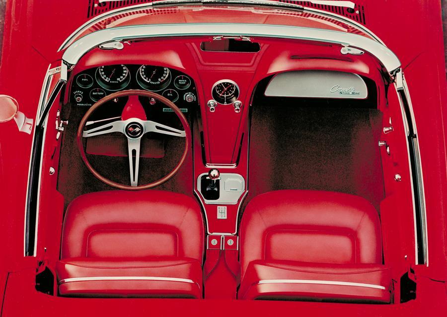 Chevrolet corvette - 1965 rok