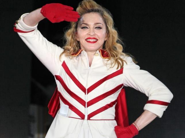 Madonna w Moskwie