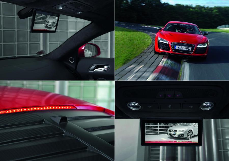 Cyfrowe lustro od Audi