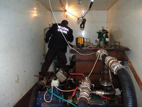 Fabryka paliwa w naczepie/ fot. Izba Celna w Toruniu