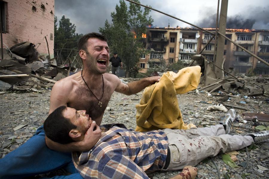 Saakaszwili: To ja kazałem zaatakować Osetię