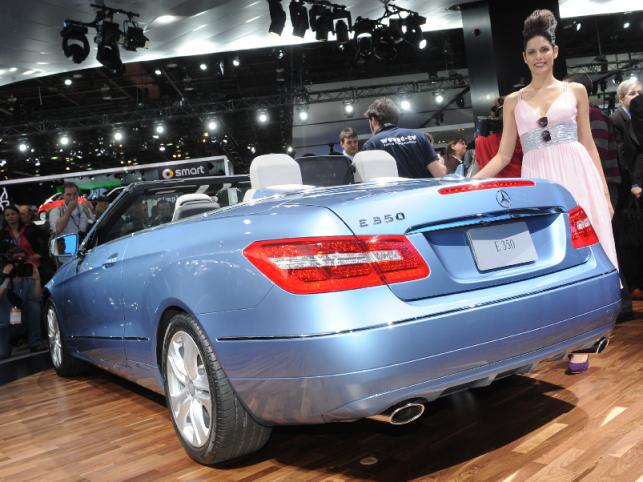 Mercedes klasy E kabrio