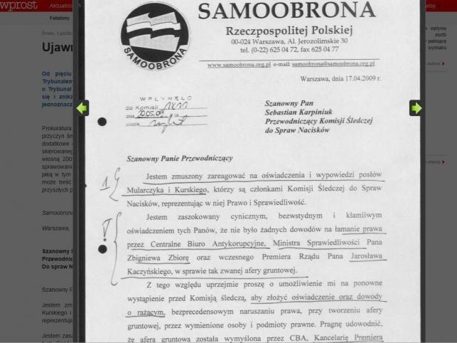 List Andrzeja Leppera
