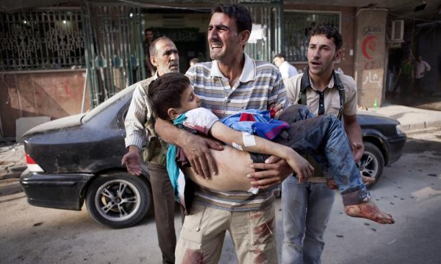 Polacy uciekli z piekła Aleppo. Krwawe walki w mieście
