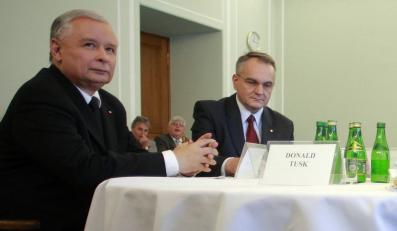 Jarosław Kaczyński i Waldemar Pawlak