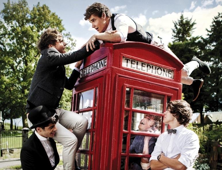 One Direction zaprosili do współpracy Davida Camerona