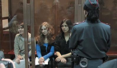 Pussy Riot w sądzie