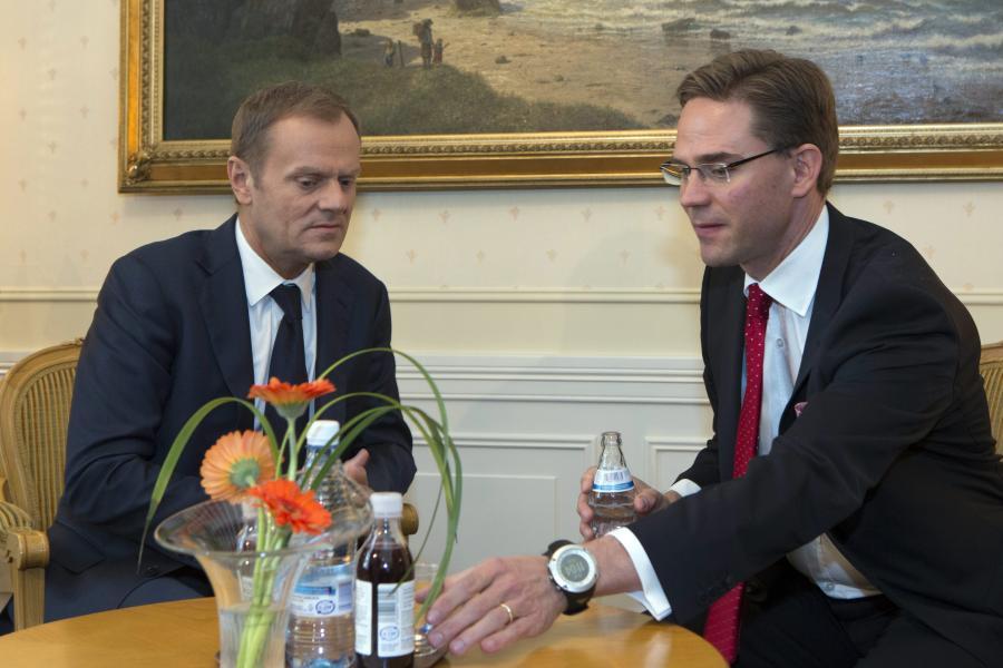 Donald Tusk w Helsinkach