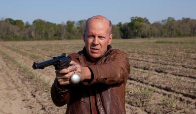 "Bruce Willis w filmie ""Looper – pętla czasu"""