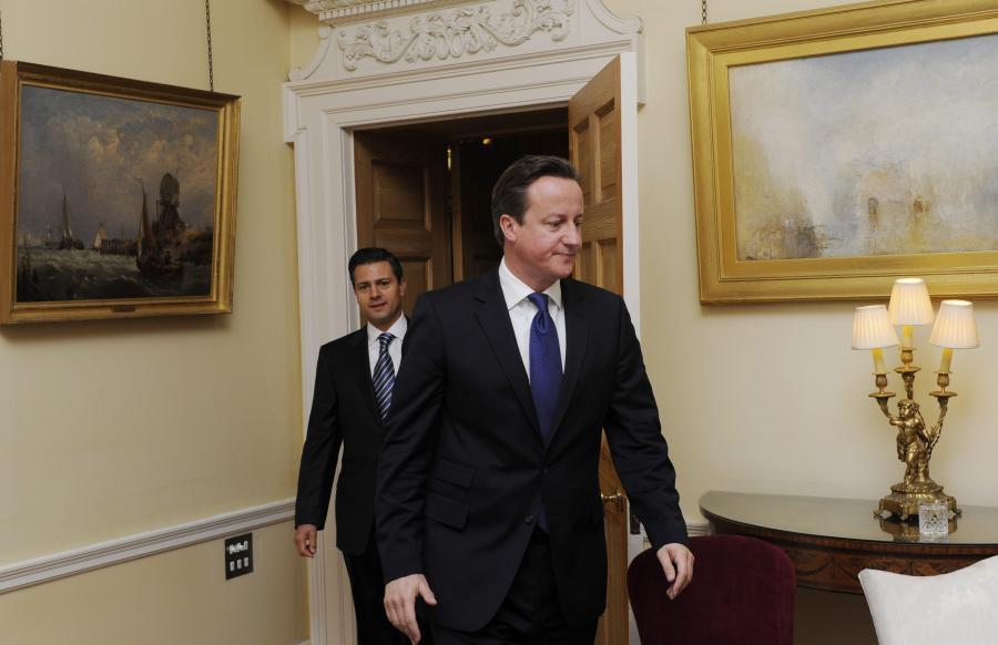 Brytyjski premier, David Cameron