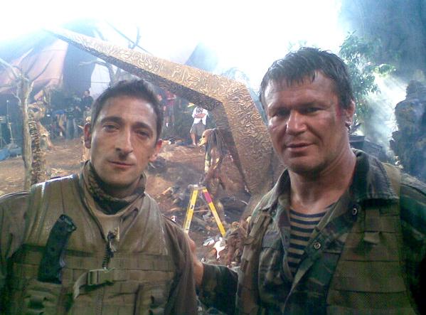 Adrien Brody na planecie Predatorów