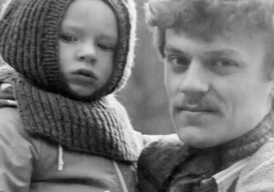 Donald Tusk z synem