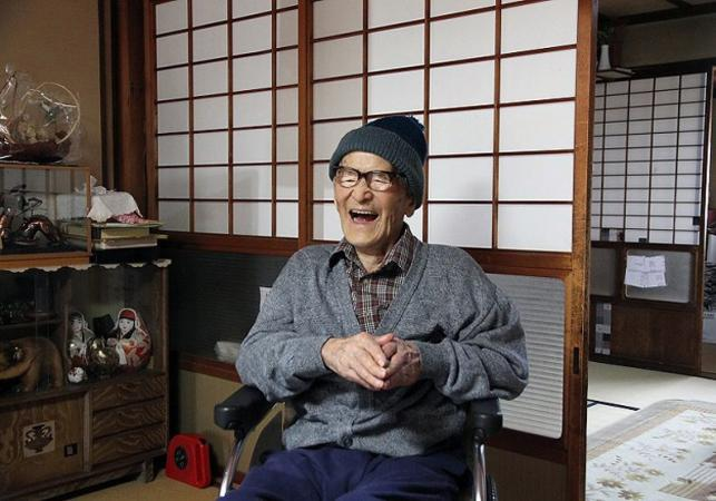 Jiroemon Kimura - najstarszy człowiek świata