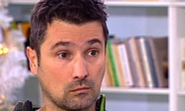 Maciej Zientarski w studiu TVP2
