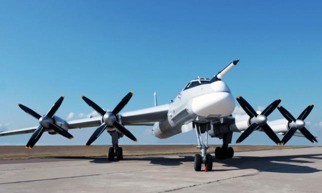 Bombowiec Tu-95 - postrach zimnej wojny