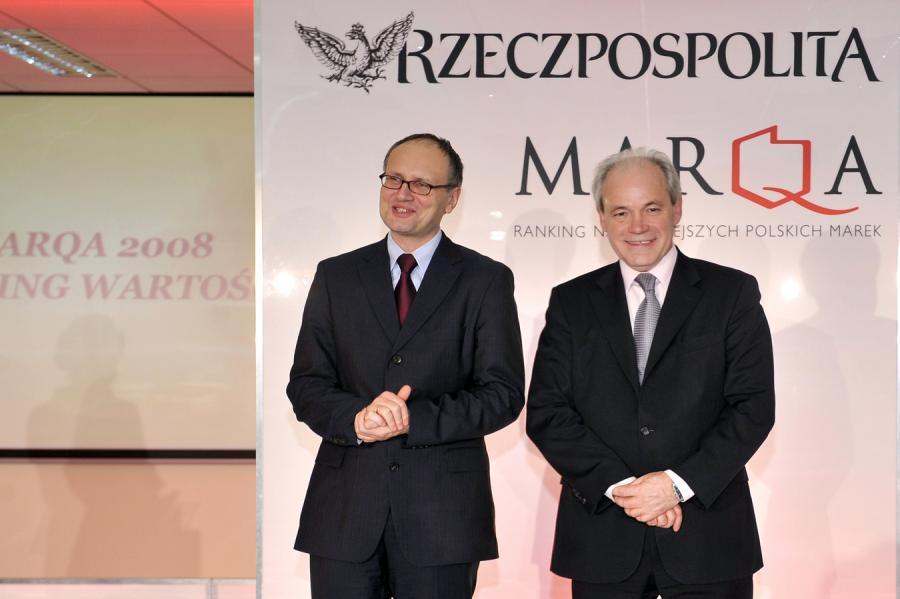 Paweł Lisicki (po lewej) i Adam Szejnfeld
