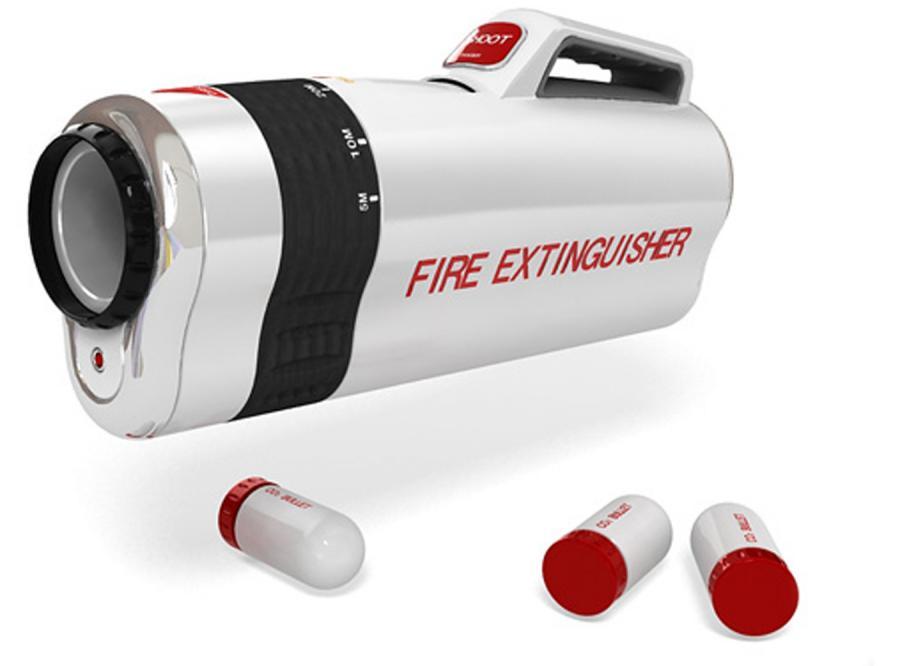 Do ognia strzelaj z działa, to może zgaśnie