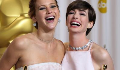 Jennifer Lawrence i Anne Hathaway – najlepsze aktorki
