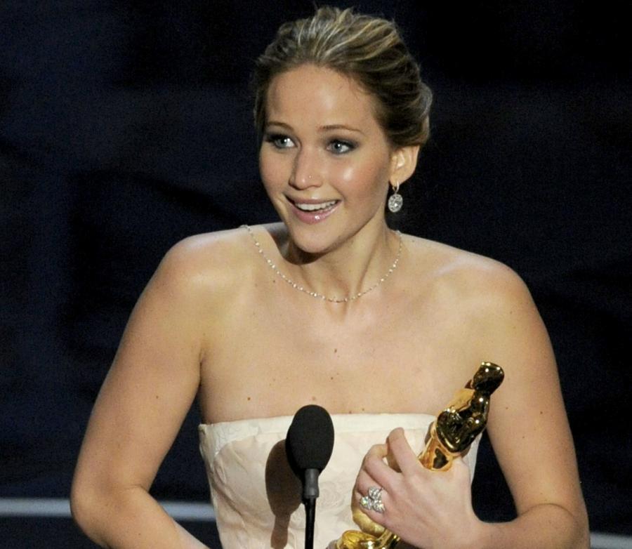 Jennifer Lawrence – laureatka tegorocznego Oscara