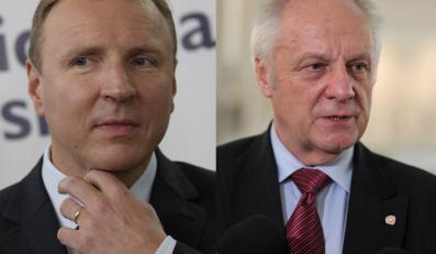 Jacek Kurski i Stefan Niesiołowski