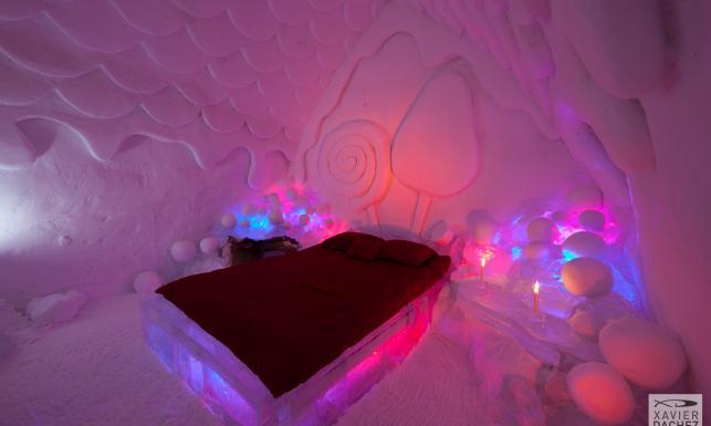 Niezwykły hotel z lodu. Wkrótce sięroztopi