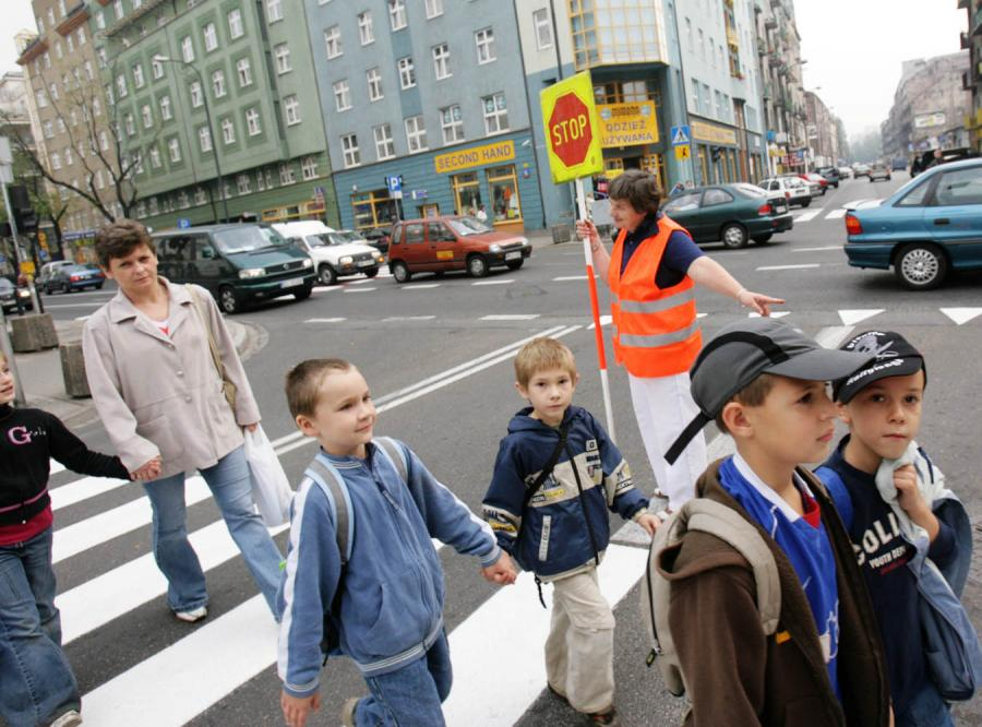 Uwaga kierowcy Dzieci wróciły do szkoły