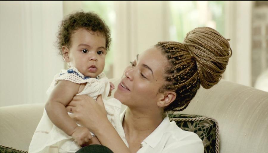 Beyoncé i Blue Ivy w filmie \
