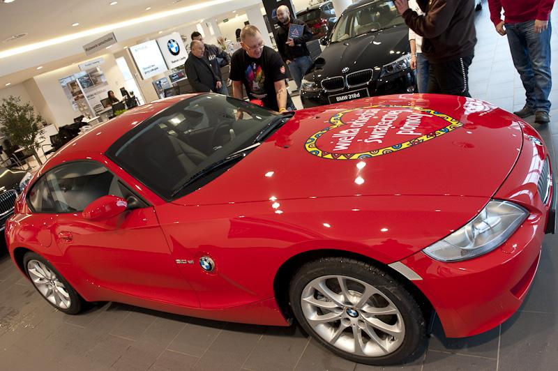 Ile kosztowało sportowe BMW dla Owsiaka?