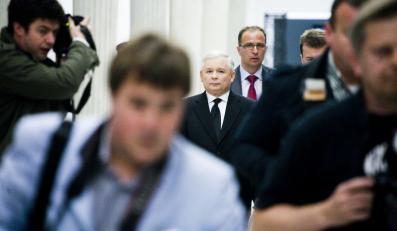 Dziennikarze i fotoreporterzy w Sejmie