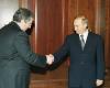 Michaił Chodorkowski i Władimir Putin