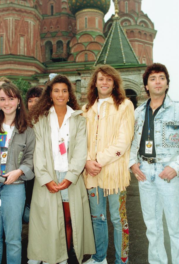 Bon Jovi w Moskwie w 1989 roku