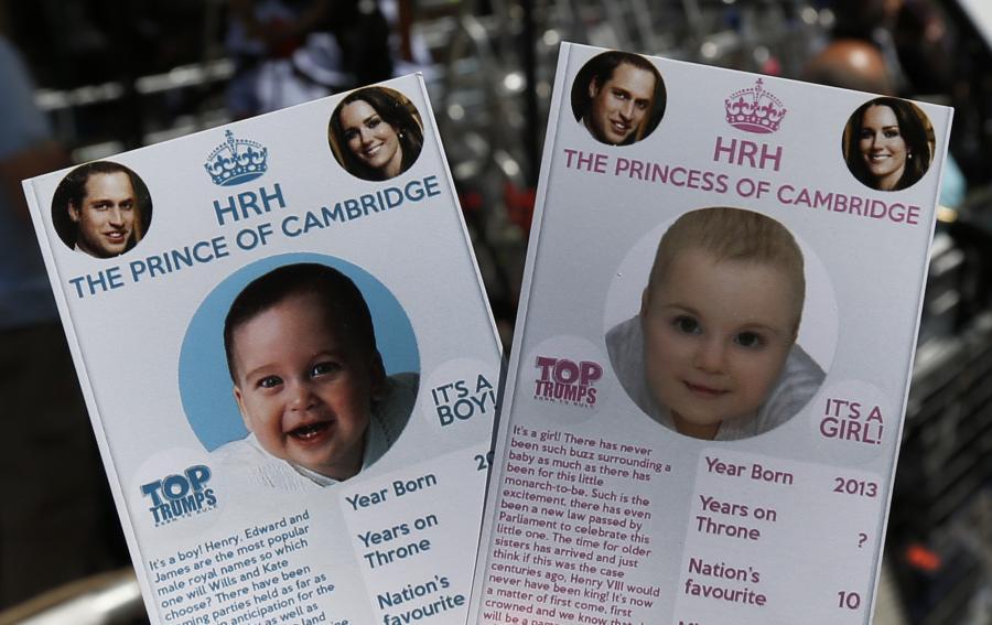 W oczekiwaniu na narodziny dziecka księżnej Kate i księcia Williama