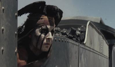"""Johnny Depp w filmie """"Jeździec znikąd"""""""