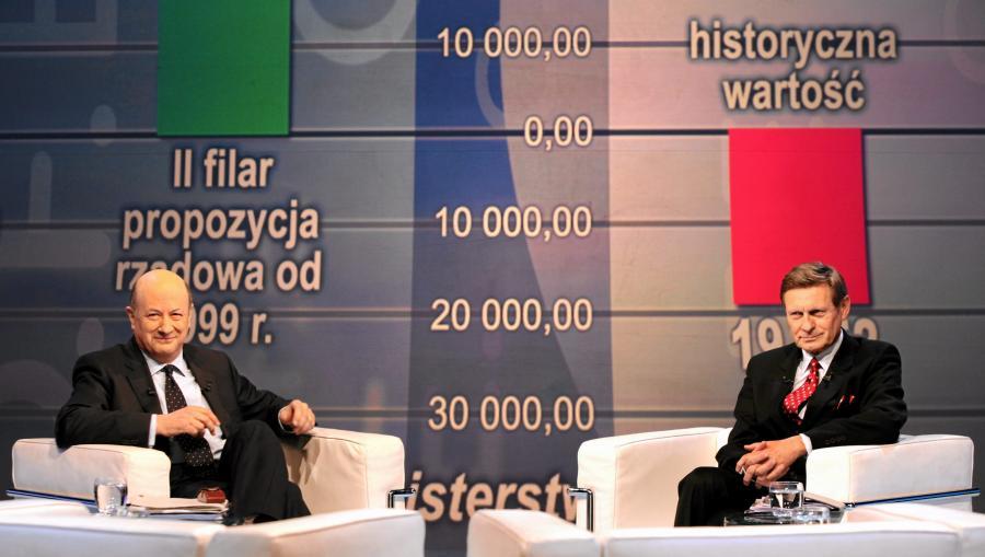 Debata Rostowski - Balcerowicz na temat OFE